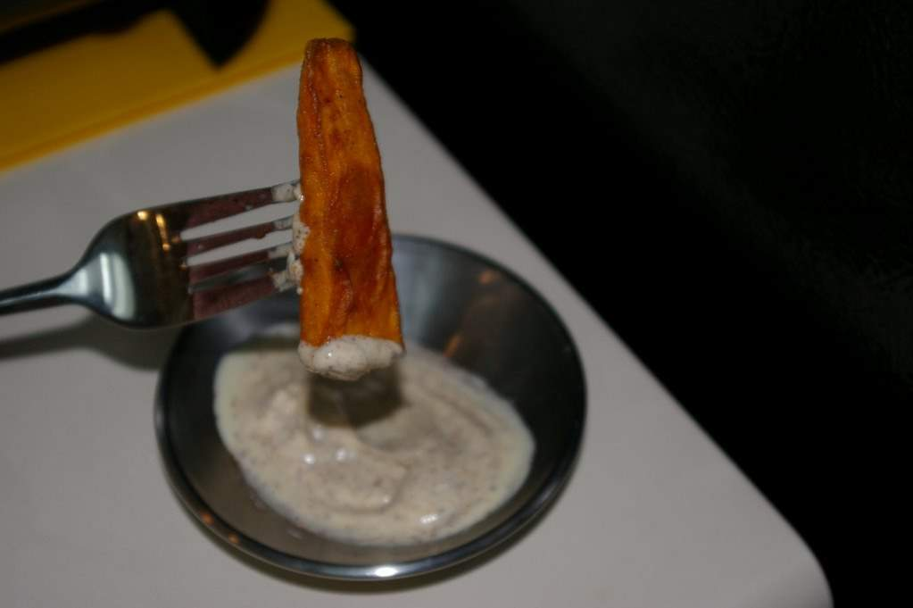 how to cut yam fries