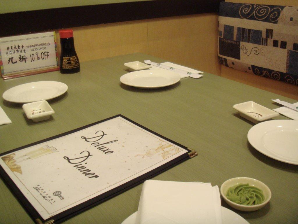 Kingsway - 01 table