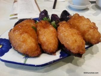 Western Lake - 11 eggplant with shrimp